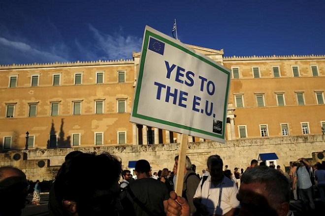 «Μένουμε Ευρώπη»: Νέα συγκέντρωση σήμερα στο Σύνταγμα