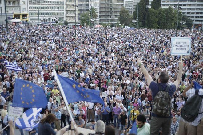 Διαδηλώσεις στο Σύνταγμα Δευτέρα και Τρίτη