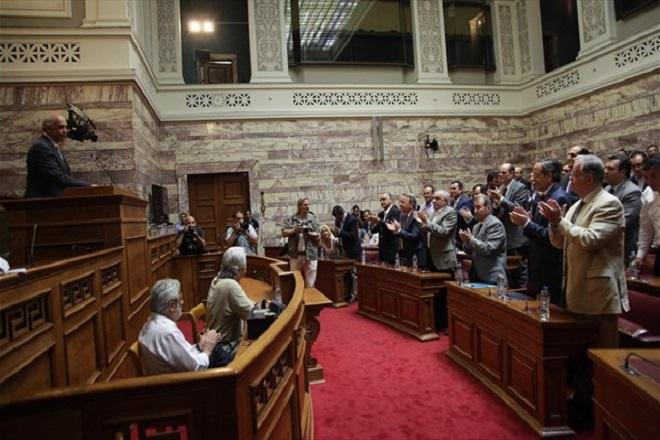 ΝΔ : Αίτηση προ ημερησίας στη Βουλή για τις διαπραγματεύσεις