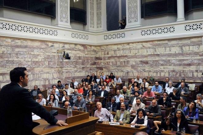 Σε εξέλιξη η κοινή συνεδρίαση της Κ.Ο. και της Πολιτικής Γραμματείας του ΣΥΡΙΖΑ