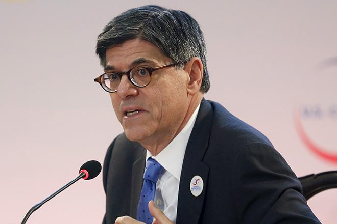 Τζακ Λιου: ΗΠΑ και ΔΝΤ πίστευαν ότι το χρέος της Ελλάδας δεν ήταν βιώσιμο