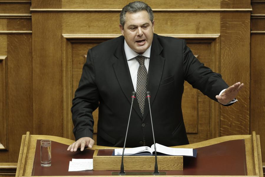 Καμμένος: Δεν φοβάμαι το Grexit, φοβάμαι τον διχασμό