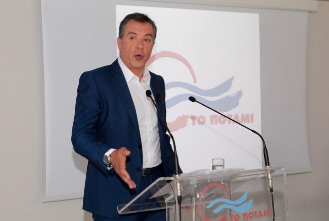 Σταύρος Θεοδωράκης: «Το Ποτάμι δεν μετέχει ούτε στους σχεδιασμούς του κ.Τσίπρα, ούτε του κ. Μητσοτάκη»
