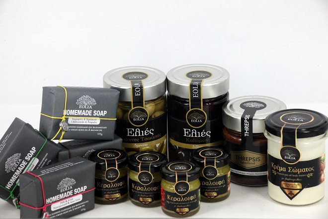 SPARTAGOODS PRODUCTS THREPSIS SUPERFOOD EOLIA SOAP OLIVE OIL EOLIA