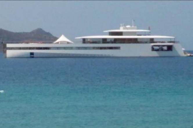 Δείτε το σκάφος του Στιβ Τζομπς στη Σάμο!