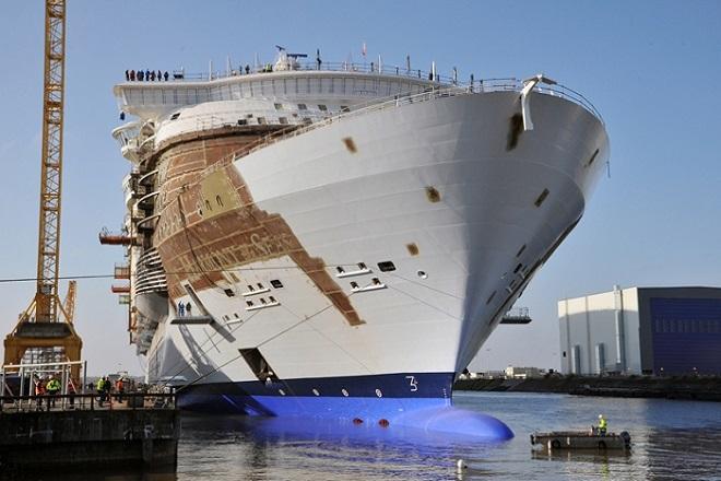 Έτοιμο για το πρώτο του ταξίδι το μεγαλύτερο κρουαζιερόπλοιο του κόσμου
