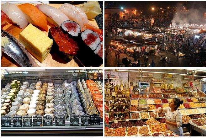 αγορές φαγητού
