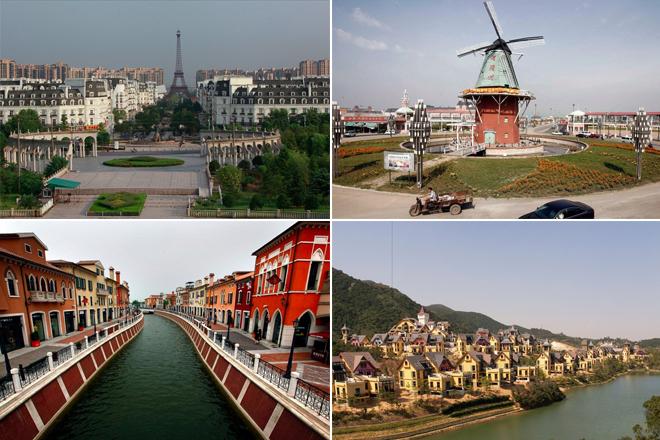 Όταν οι Κινέζοι αντιγράφουν τις διασημότερες πόλεις του πλανήτη