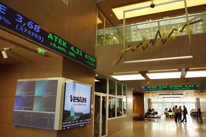 Με άνοδο υποδέχτηκε το Χρηματιστήριο τα καλά νέα από την ΕΚΤ