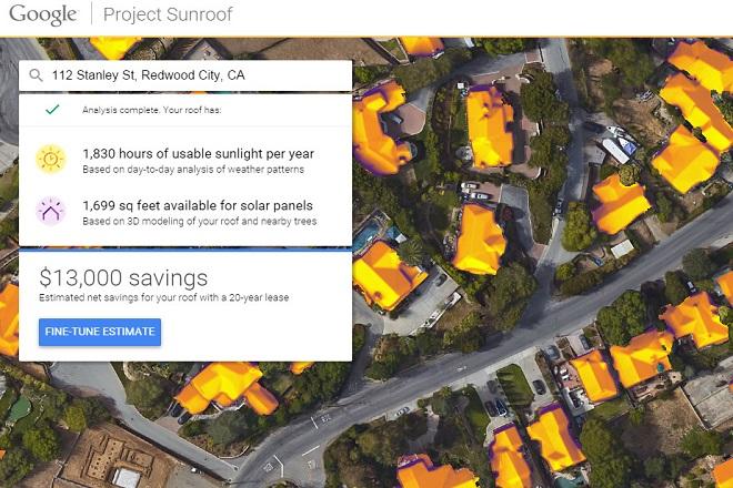 Θέλετε να βάλετε φωτοβολταϊκά στη στέγη σας; Η Google θα σας βοηθήσει