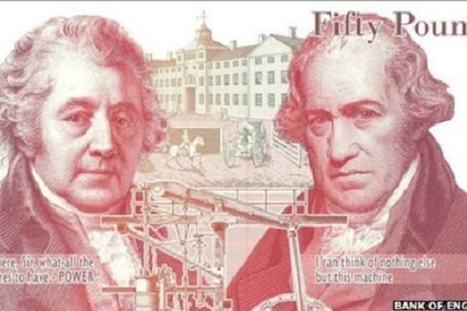 Πλαστικά θα είναι τα νέα αγγλικά χαρτονομίσματα