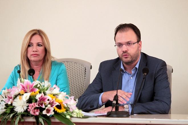 Θεοχαρόπουλος: «Η συνεργασία είναι η λύση των  προβλημάτων της χώρας»