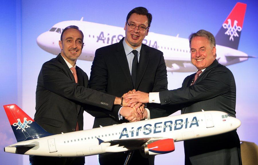 «Βαλίτσες» για υπερατλαντικές πτήσεις από την Air Serbia