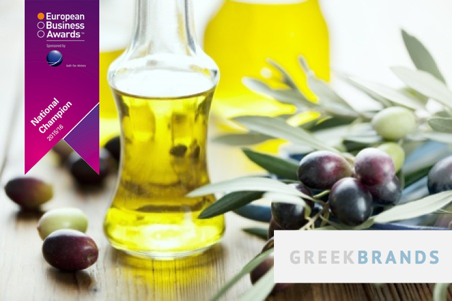 Greek Brands: «Εθνικός Πρωταθλητής» στα Ευρωπαϊκά Επιχειρηματικά Βραβεία