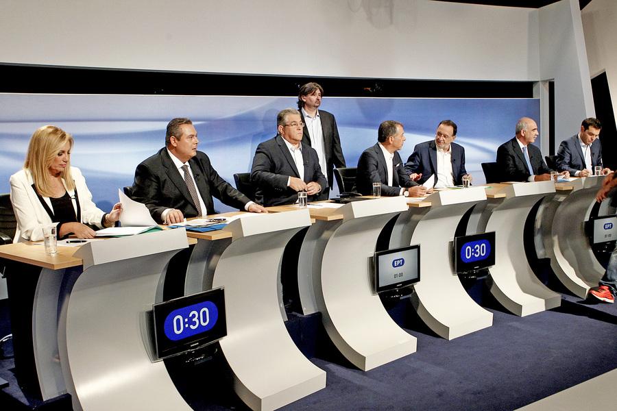 Τι δεν ακούσαμε στο debate των πολιτικών αρχηγών