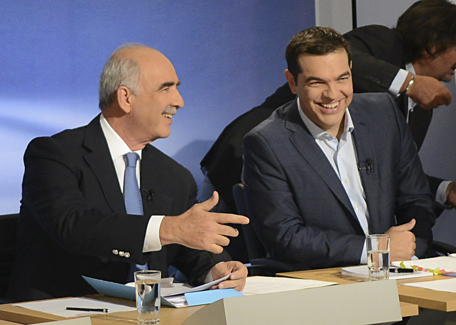 Debate 2015: Οι απαντήσεις των πολιτικών για την εξωτερική πολιτική και την άμυνα