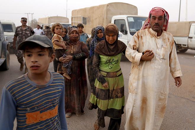 Η προσφυγική κρίση της Συρίας σε ένα γραφικό