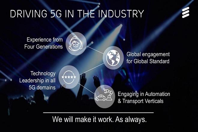 Η Ericsson παρουσιάζει το πρόγραμμα 5G για Ευρώπη