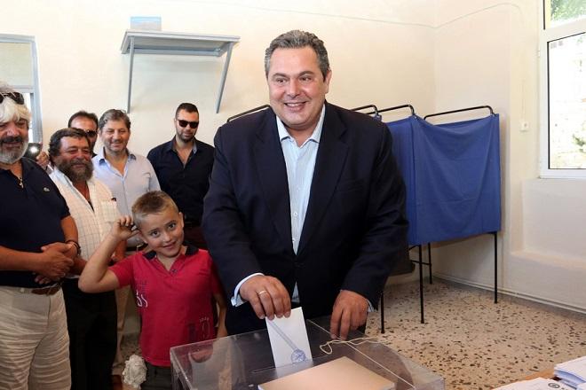 Καμμένος: Ψήφος εμπιστοσύνης στο αύριο ή ασυλίας στο χθες