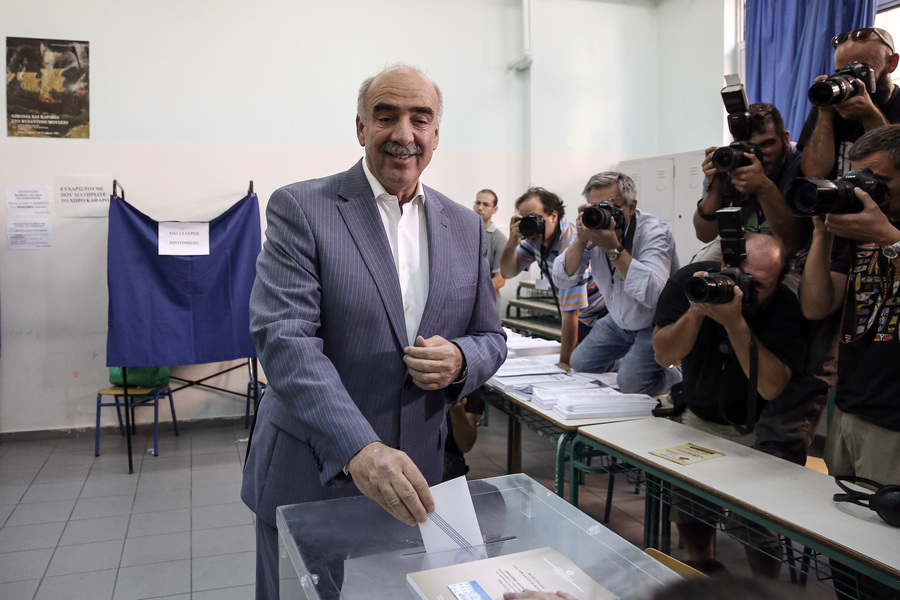 Ο Βαγγέλης Μεϊμαράκης επικεφαλής του ευρωψηφοδελτίου της ΝΔ