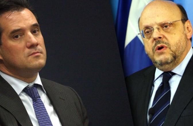 Σφάζονται Αντώναρος-Γεωργιάδης μέσω twitter για τη ΝΔ