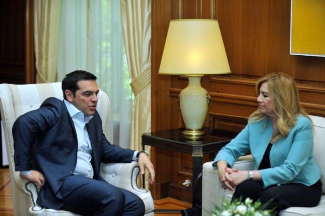 Έξαλλη η Φώφη Γεννηματά με τις διαρροές Τσίπρα περί συνεργασίας