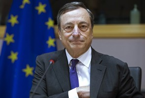 European Central Bank (ECB) President Mario Draghi testifies before the European Parliament's Economic and Monetary Affairs Committee in Brussels, Belgium, September 23, 2015. The ECB needs more time to assess if it will have to beef up its 1 trillion euro plus asset-buying program, ECB President Draghi said, confounding some expectations that the bank was ready to expand quantitative easing.   REUTERS/Yves Herman - RTX1S1NI