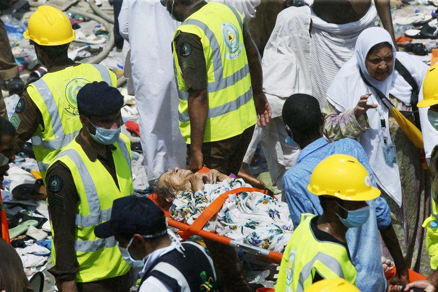 Τραγωδία στη Μέκκα: Περισσότεροι από 700 οι νεκροί προσκυνητές