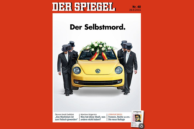 Το Spiegel κάνει την κηδεία της Volkswagen!