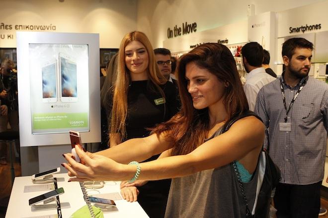 Τα iPhone 6s και iPhone 6s Plus στα καταστήματα COSMOTE