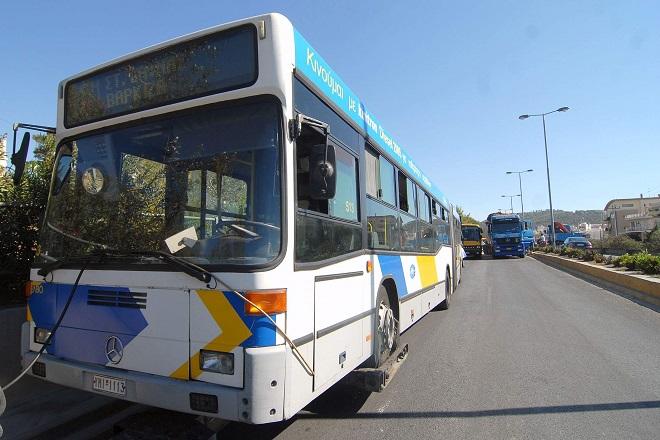 Χειρόφρενα σήμερα σε λεωφορεία και τρόλεϊ