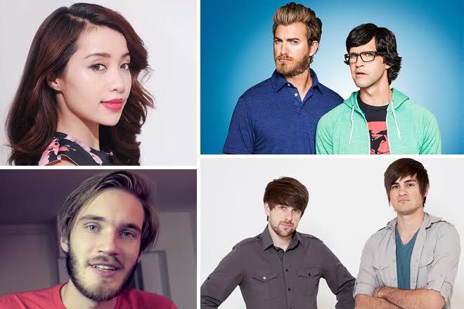 Αυτοί είναι οι εκατομμυριούχοι του YouTube