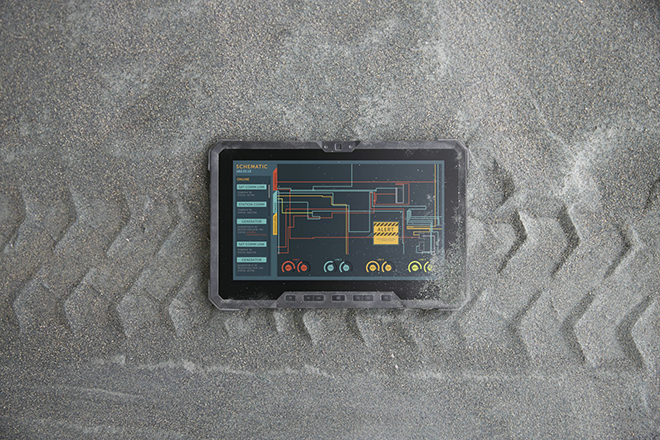 Το επαγγελματικό tablet που αντέχει το βάρος ενός… τρακτέρ!