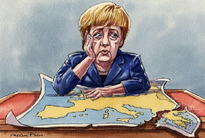 Μέρκελ: H παρανομία στο Αιγαίο να μετατραπεί σε νομιμότητα