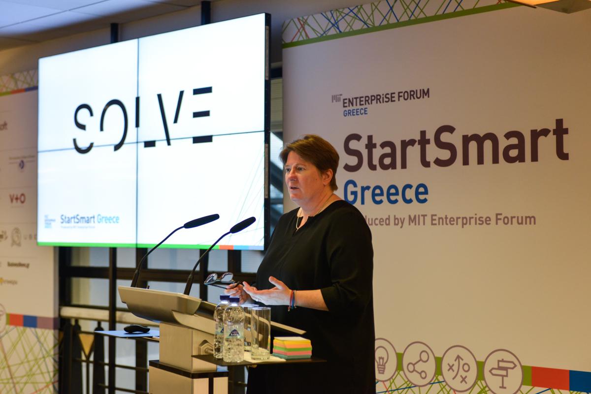 StartSmart Greece 2015_Chris Shipley, Executive Producer, SOLVE, MIT Technology Review (b)