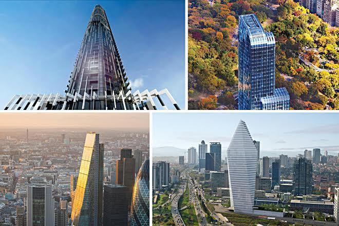 Οι πιο εντυπωσιακοί ουρανοξύστες του πλανήτη
