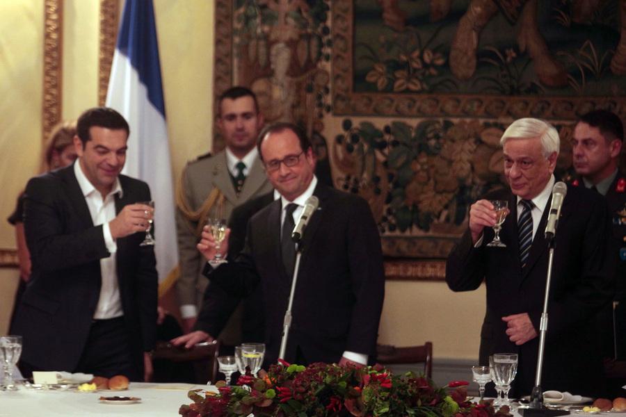 Γαλλική στήριξη «βλέπουν» στο Μέγαρο Μαξίμου