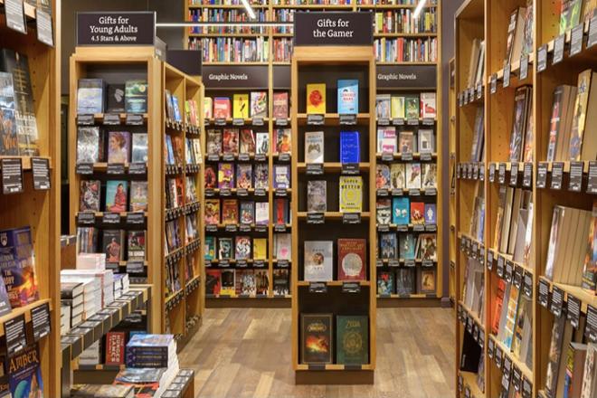 Αγοράστε τα βιβλία σας απ' το φυσικό κατάστημα της Amazon