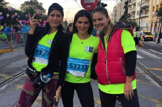 Οι διάσημοι Έλληνες που έτρεξαν στον 33ο Μαραθώνιο της Αθήνας