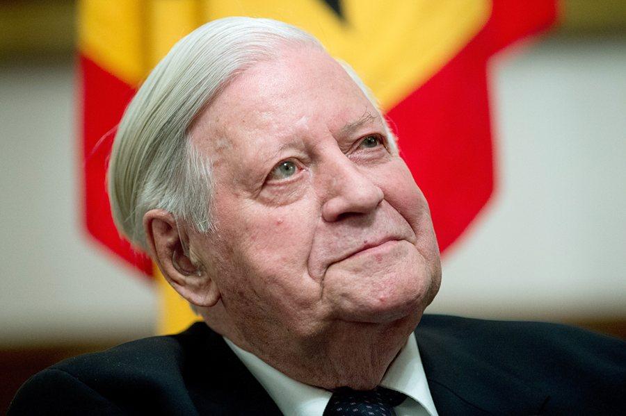 Απεβίωσε ο Γερμανός πρώην Καγκελάριος, Χέλμουτ Σμιτ