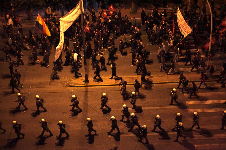 «Φρούριο» η Αθήνα με 6.000 αστυνομικούς για την επέτειο του Πολυτεχνείου