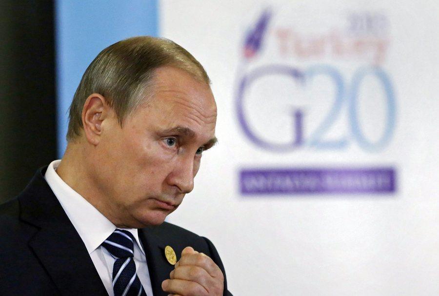 Πούτιν: Το Ισλαμικό Κράτος χρηματοδοτείται κι από χώρες των G20