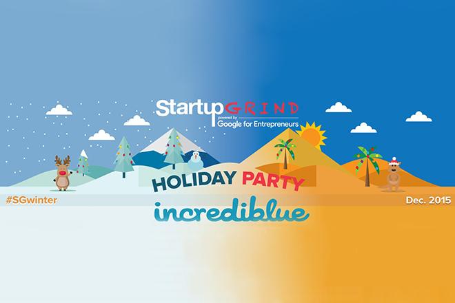 Το χριστουγεννιάτικο Startup Grind έχει άρωμα καλοκαιριού