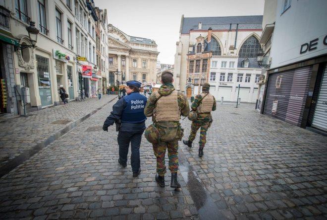 Βρυξέλλες: Μια πόλη φάντασμα