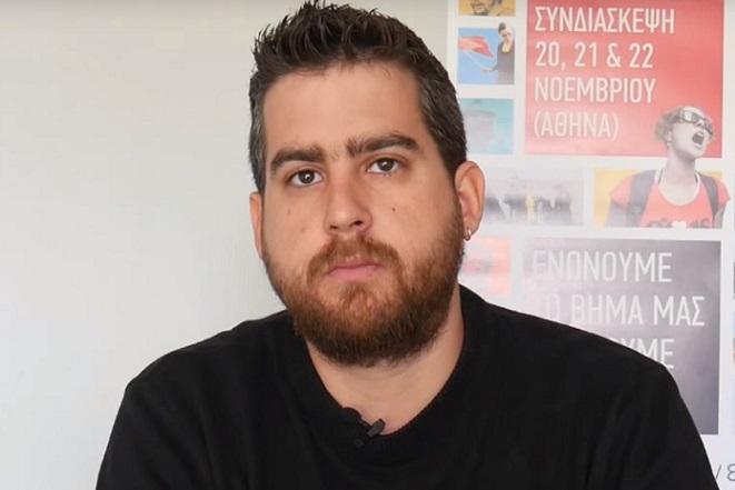 Ο νέος γραμματέας της νεολαίας ΣΥΡΙΖΑ ραπάρει