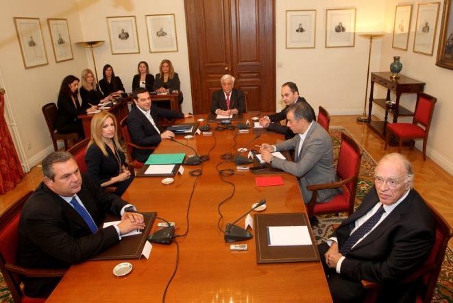 Η ανακοίνωση της Προεδρίας για το συμβούλιο πολιτικών αρχηγών