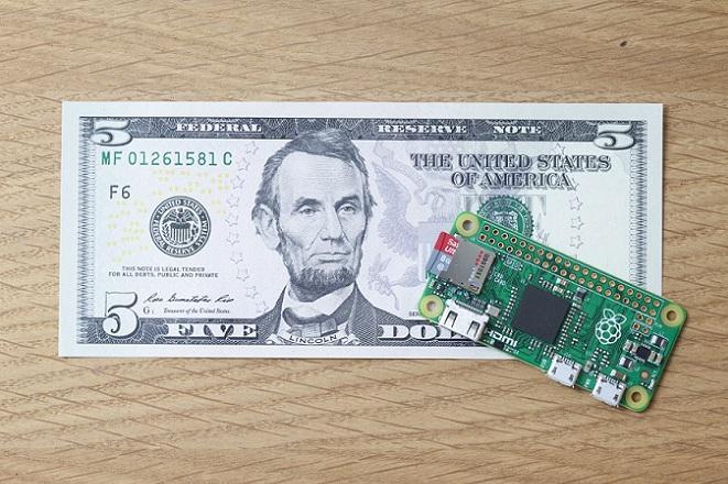 Ξεπούλησε ο υπολογιστής των 5 δολαρίων