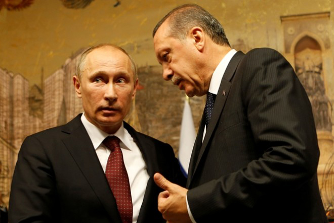 Συνάντηση Ερντογάν – Πούτιν στην Αγία Πετρούπολη