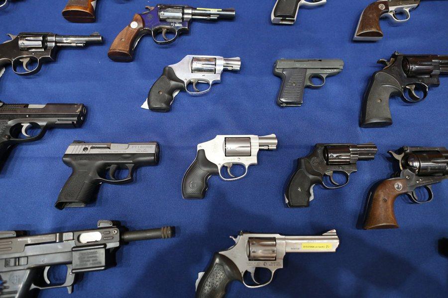 Πόσα όπλα έχουν οι Αμερικανοί σε ένα διάγραμμα