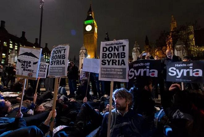 Βρετανικοί βομβαρδισμοί στη Συρία